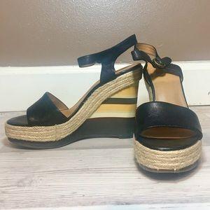 Nine West Vintage American Takeatrain Wedge Sandal